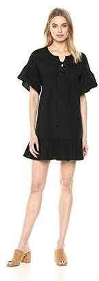 Lucky Brand Women's Lace up Dress