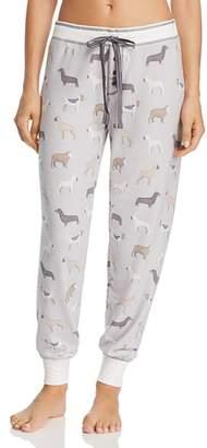 PJ Salvage Dog Print Jersey Jogger PJ Pants