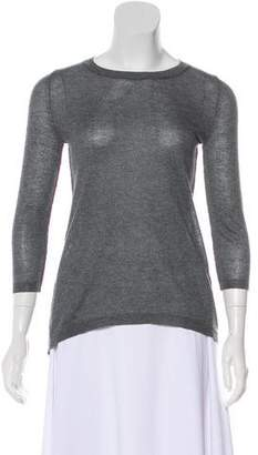 360 Cashmere Long Sleeve Knit Top
