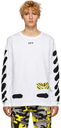 Off-White White Spray Paint Shirt