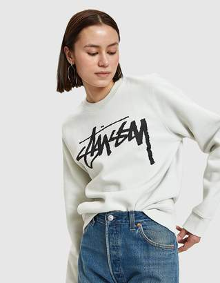 Stussy Old Stock Sweater in Stone