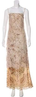 Ungaro Maxi Lace Dress multicolor Maxi Lace Dress
