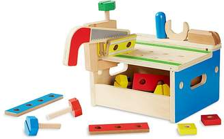 Melissa & Doug Hammer & Saw Tool Bench - Ages 3+
