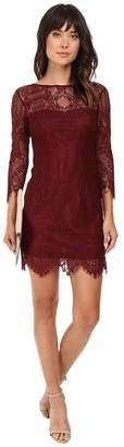 BB Dakota Everton V-Back Lace Dress Women's Dress