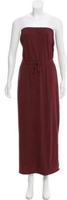 Theory Strapless Midi Dress