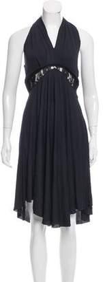CNC Costume National Halter Midi Dress