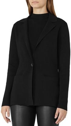 REISS Maya Knit Blazer $275 thestylecure.com