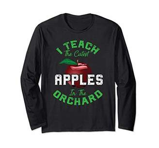 Long Sleeve I Teach The Cutest Back to School Teacher Shirt
