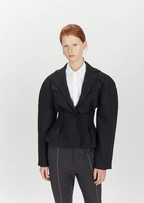 Jacquemus La Petite Wool Blazer Black