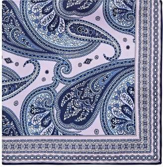 Paolo Albizzati Men's Paisley Silk Twill Pocket Square