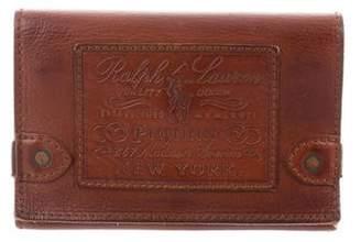 Ralph Lauren Leather Travel Wallet