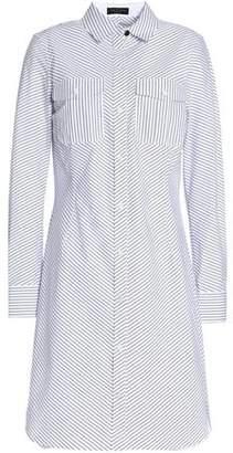 Rag & Bone Striped Cotton-Poplin Shirt Dress