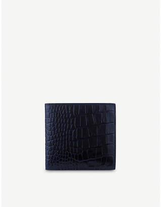 Smythson Mara 8 card leather wallet