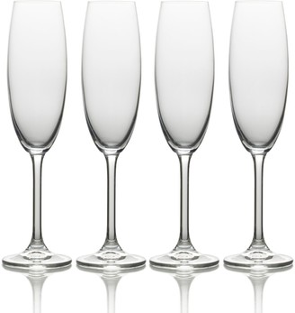 Mikasa Julie 4-pc. Champagne Flute Set