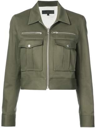 Rag & Bone zipped military jacket