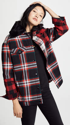 McQ Alexander McQueen Tartan Boxy Jacket