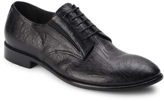 Jo Ghost Men's Textured Leather Derby Shoes