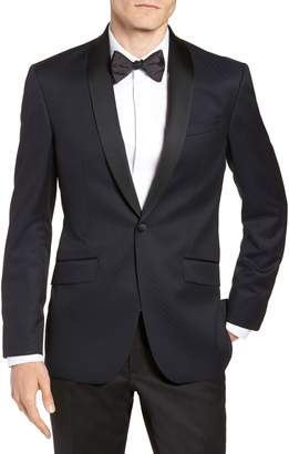 Ted Baker Josh Trim Fit Shawl Collar Wool Dinner Jacket