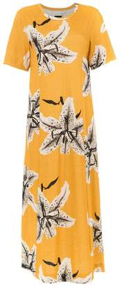 OSKLEN long printed dress
