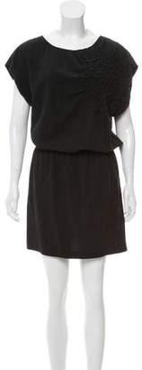 WHIT Silk Knee-Length Dress
