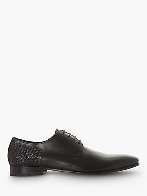 Dune Saluted Leather Derby Shoes