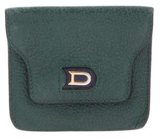 Delvaux Leather Coin Pouch