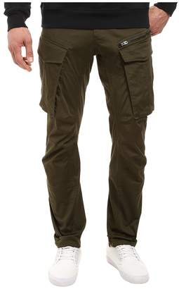 G Star G-Star Rovic Zip 3D Tapered Jeans in Premium Micro Stretch Twill Dark Bronze Green Men's Jeans