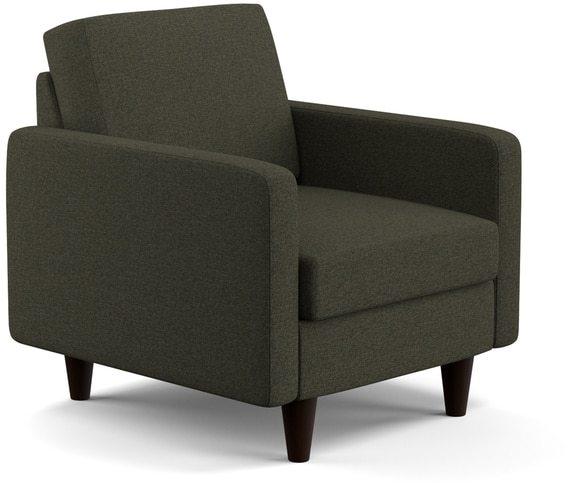 Portfolio Luca Basil Grey Linen SoFast Chair