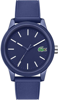 Lacoste Men's 12.12 Watch with Blue Silicone Strap