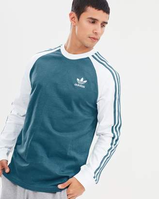 adidas 3-Stripes LS Tee