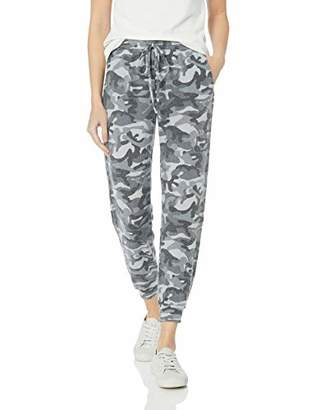 Michael Stars Women's Madison Brushed camo Pull on Pant with Drawstring