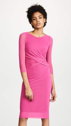 Fuzzi 3/4 Sleeve Midi Dress