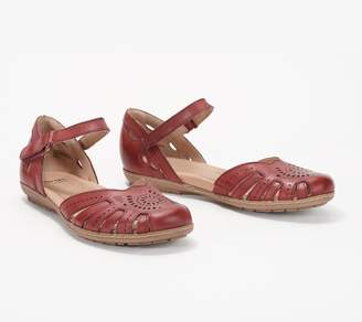 Earth Leather Mary Jane Sandals - Camellia Cahoon
