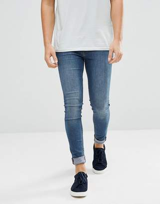 Cheap Monday Him Spray Super Skinny Jeans Mode Blue