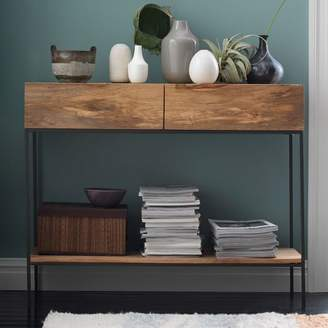 west elm Industrial Storage Console