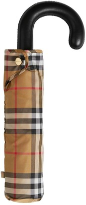Burberry VINTAGE CHECK PRINT UMBRELLA