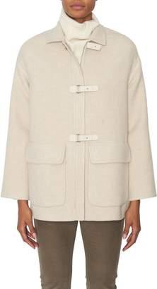 Loro Piana Cowan Pile Cashmere Coat