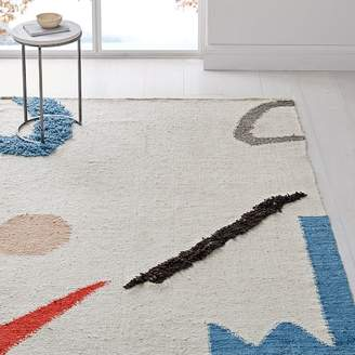 west elm Abstract Shapes Rug