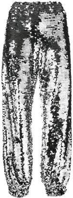 MSGM sequin track pants
