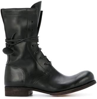 C Diem 7-Hole lace-up boots