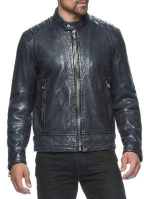 Andrew Marc Classic Leather Jacket