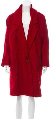 Surface to Air Oversize Knee-Length Coat
