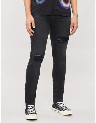 Ksubi Chitch Hustler slim-fit mid-rise distressed jeans