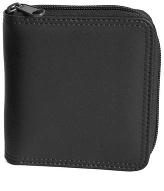 Royce New York Zip Around Bifold Wallet