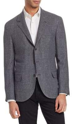 Brunello Cucinelli Textured Houndstooth Jacket