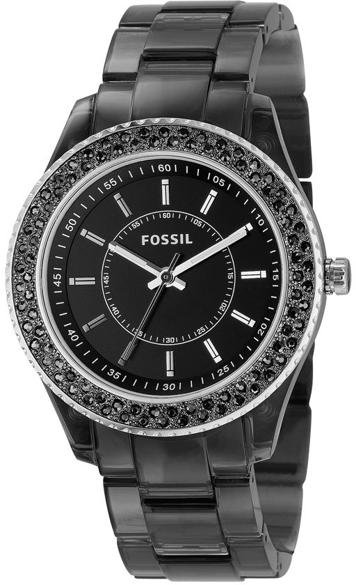 Fossil Crystal Rim Watch