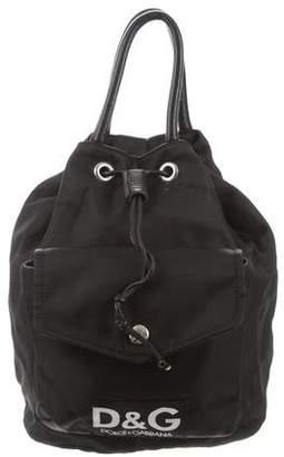 Dolce & Gabbana Nylon Drawstring Backpack