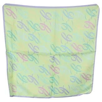 Chopard Green Silk Scarves