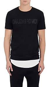 "Helmut Lang RE-EDITION Men's ""Tom Of England"" Cotton Jersey T-Shirt - Black"