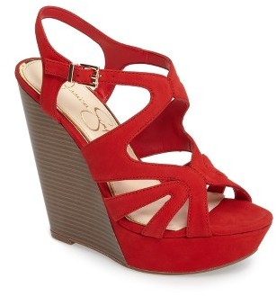 Women's Jessica Simpson Brissah Wedge $88.95 thestylecure.com
